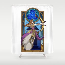 Zelda Princess of Wisdom Shower Curtain