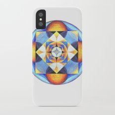 Solar Kaleidoscope (ANALOG zine) iPhone X Slim Case