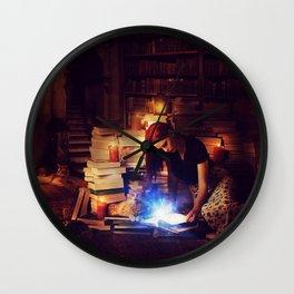 Stories Mystic Scene  Wall Clock