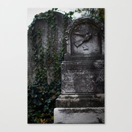 Cemetery 1 Canvas Print