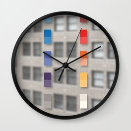 new america office one Wall Clock