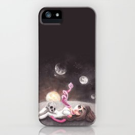 Lost far away from home iPhone Case