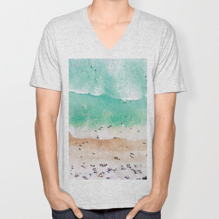 Beach Mood Unisex V-Neck