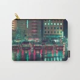 Taxi stop in the rain Carry-All Pouch