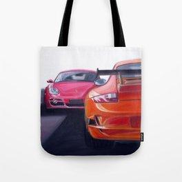 Porschemotion Tote Bag