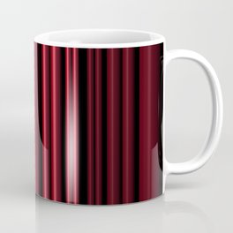 Red 3D Stripes Coffee Mug
