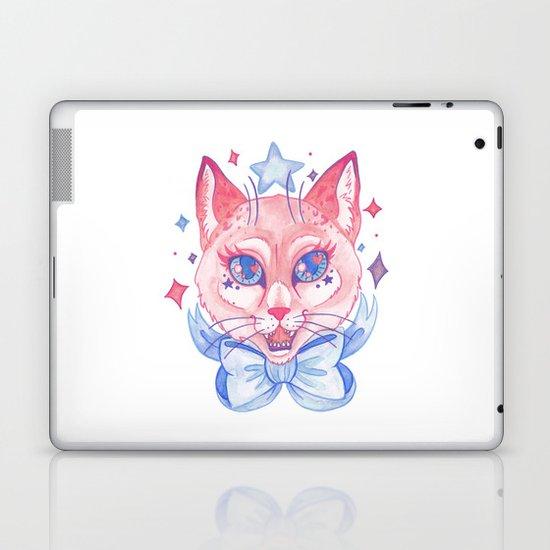 Kawaii Kitty Laptop & iPad Skin