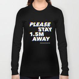 Glitch in society: 1.5m Long Sleeve T-shirt