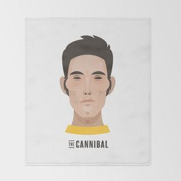 "Eddy ""THE CANNIBAL"" Merckx Throw Blanket"
