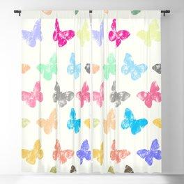 Colorful butterflies Blackout Curtain