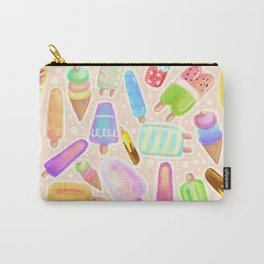 Popsicles and Icy Creamies! Carry-All Pouch