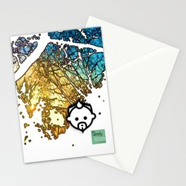 Snowburst by JC LOGAN 4 SB Stationery Cards