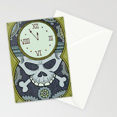 Death Clock Stationery Cards