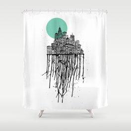 City Drips Shower Curtain