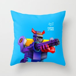 Empire of Code - heavy Throw Pillow