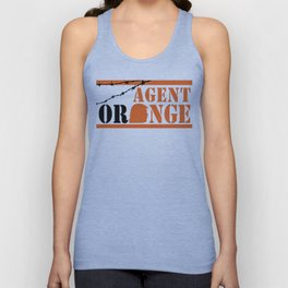Agent Orange Unisex Tank Top