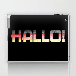 Hallo! Laptop & iPad Skin