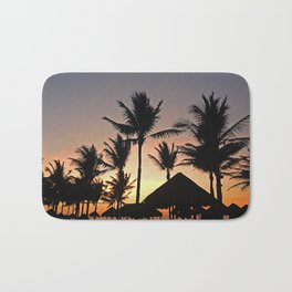 Caribbean Sunset Bath Mat