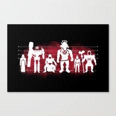 Plastic Villains  Canvas Print