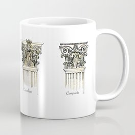 Antique Columns love Coffee Mug