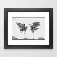 Battle for the Tree of Life Framed Art Print
