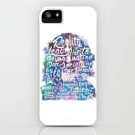 Lennon Reality iPhone Case