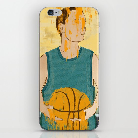 Losing my love for basketball iPhone & iPod Skin