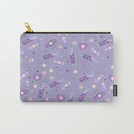 Menhera Needles on Purple Carry-All Pouch