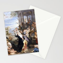 The Massacre of the Innocents - Rubens Stationery Cards