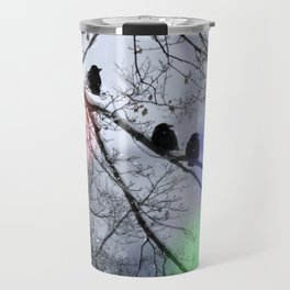 Polar Crows Travel Mug