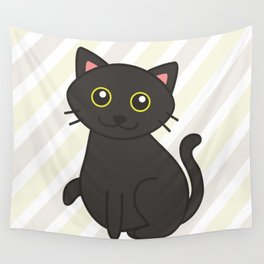 Stitch the Fat(ass) Cat Wall Tapestry