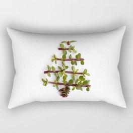 Succulent Christmas tree Rectangular Pillow
