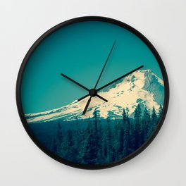 Mount Hood Wall Clock