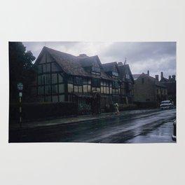 England Art Print * Vintage Photo * 1950's * Shakespeare * Home * Kodachrome * European * Color Rug