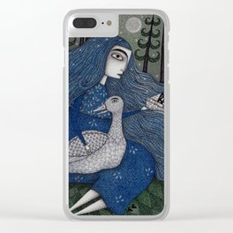 The White Duck Clear iPhone Case
