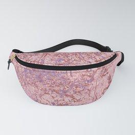 Pink Landscape Fanny Pack