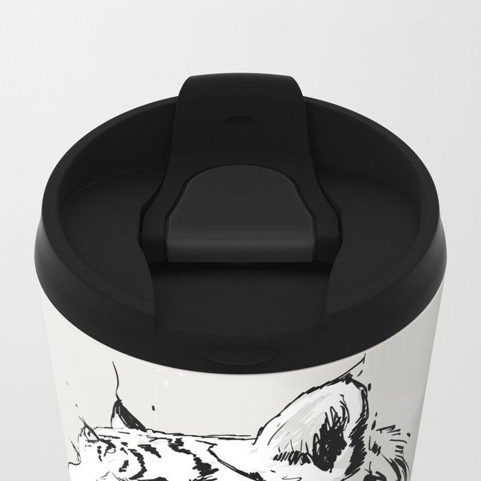 Bloody Tigress Metal Travel Mug