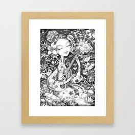 Weeping Widow Framed Art Print