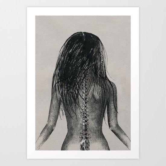 Spine Art Print