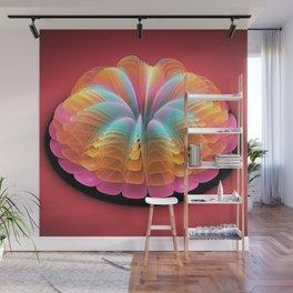 Alien Flower Wall Mural