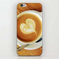 A Warm Cup of Love iPhone & iPod Skin