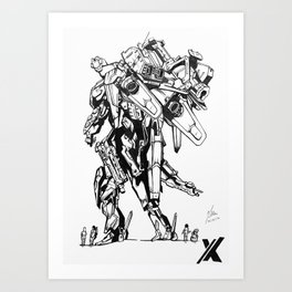 Xenoblade Chronicles X Art Print