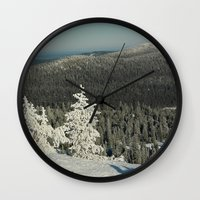 narnia Wall Clocks featuring Narnia by JukkaA