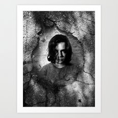 pot hole Art Print