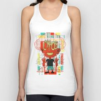 chaos Tank Tops featuring Chaos by Tshirt-Factory