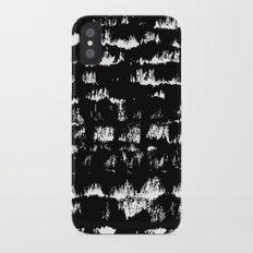 Black pattern#1 iPhone X Slim Case