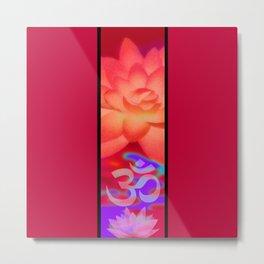Lotus Blossom Metal Print