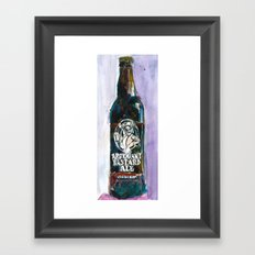 STONE ARROGANT BASTARD Beer Art Print - California Beer Art - Bar Room Framed Art Print