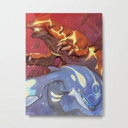 Omega Ruby & Alpha Sapphire Metal Print