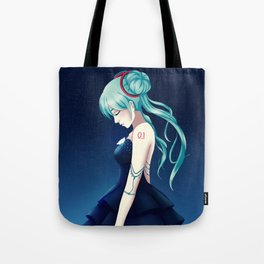 Miku in Elegance Tote Bag